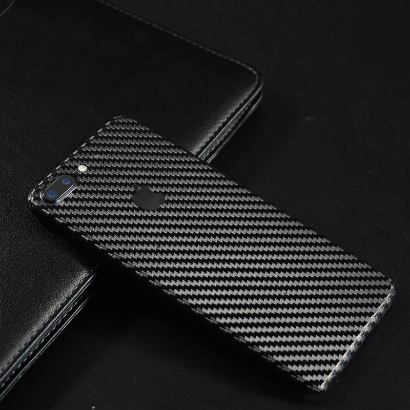 9 Color 3D Carbon Fiber Back Film For Apple iPhone 7 Plus Mobile Phone Decorative Protector iPhone7 Back Stickers AE Saver SHIP