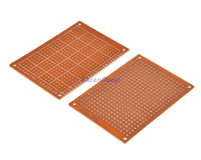 5pcs/lot 5x7cm 5*7 New Prototype Paper Copper PCB Universal Experiment Matrix Circuit Board In Stock