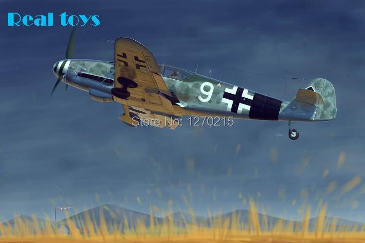 Trumpeter model 02298 1/32 Messerschmitt Bf 109G-10 plastic model kit dragon 3222 1 32 messerschmitt bf109e 3