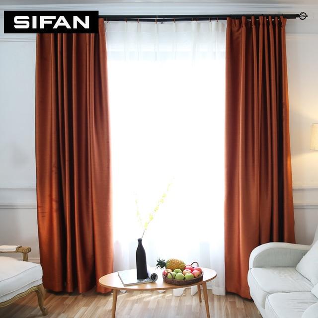 Solide Farben Blackout Vorhänge Fauxseide Moderne Vorhänge Für Das  Schlafzimmer Vorhang Für Wohnzimmer Vorhänge Jalousien