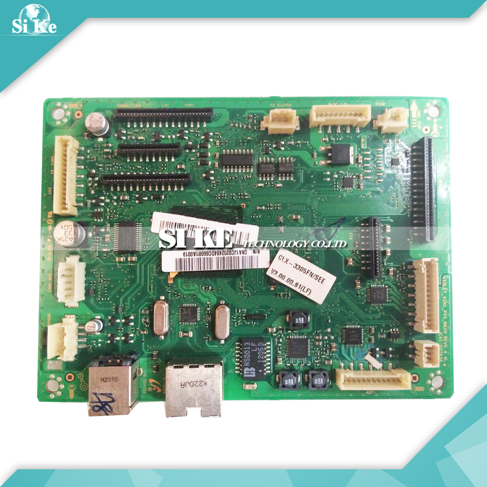 Laser Printer Main Board For Samsung CLX-3305FN CLX-3306FN CLX 3305FN 3306FN Formatter Board Mainboard Logic Board стоимость