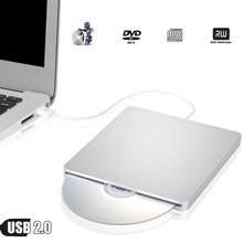 USB Externo gravador de DVD Drive Óptico SuperDrive para Apple iMac 27