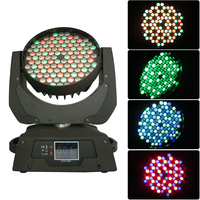 High quality 3w 108 rgbw led wash stage moving head light for wedding theater disco club bar