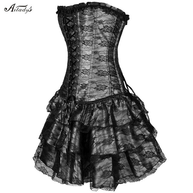 Waist trainer corsets steampunk corselet gothic Plus Size Sexy Gothic corsets hot shapers body intimates corsets and bustiers