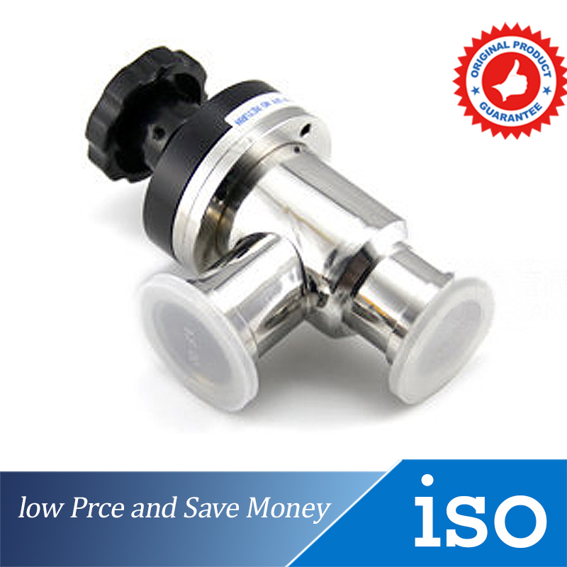 где купить  KF16 Hand Corrugated Pipe Shaft Seal Vacuum Valve  дешево