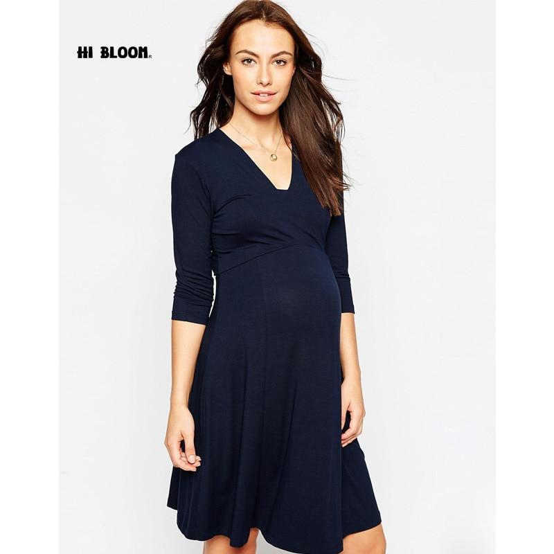 Подарки бренд Средства ухода за кожей для будущих мам одежда элегантные вечерние платья для беременных Для женщин эластичные Беременность ...