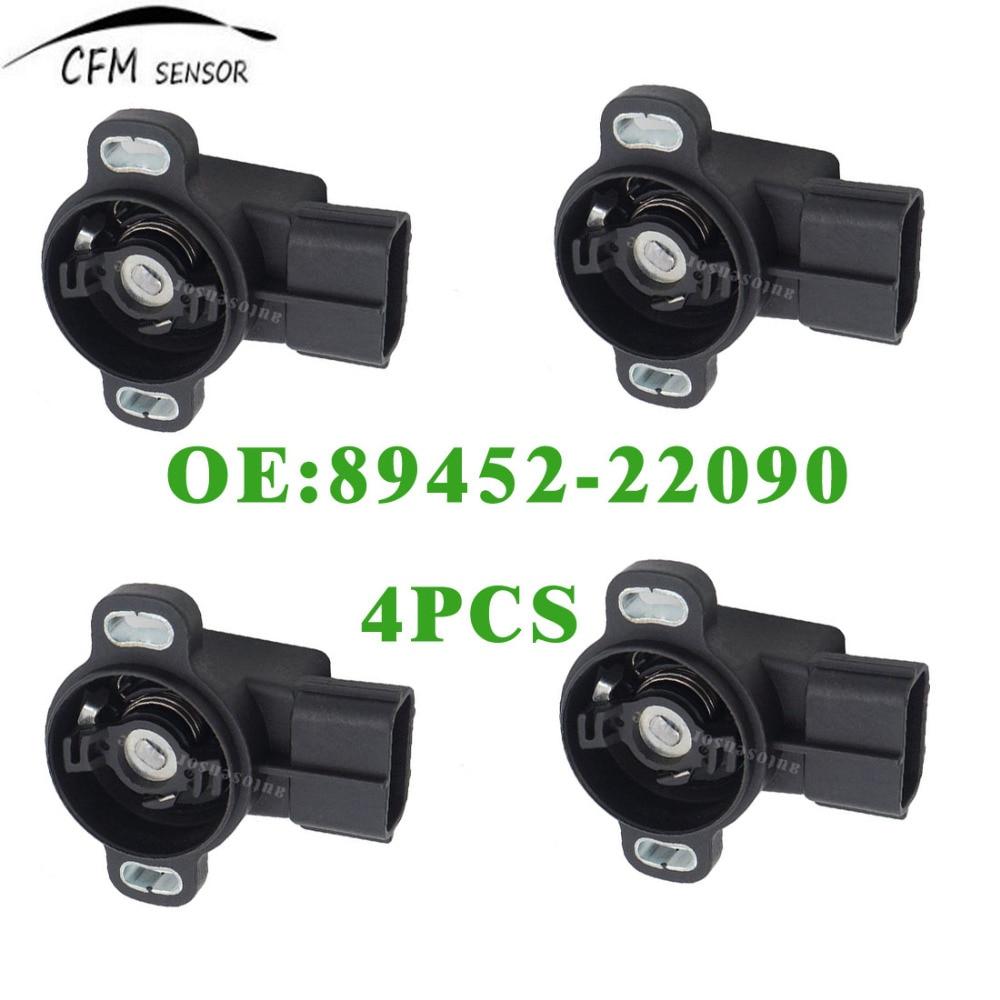 X AUTOHAUX 89452-20130 Car Black Standard Throttle Position Sensor fit for Toyota Matrix