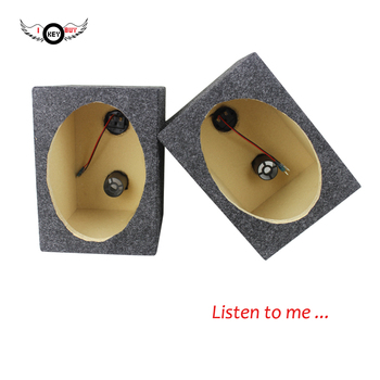 6*9 Inch MDF Carpeted Truck Subwoofer Enclosure Pair Car Louder Audio Speaker Empty Boom Box