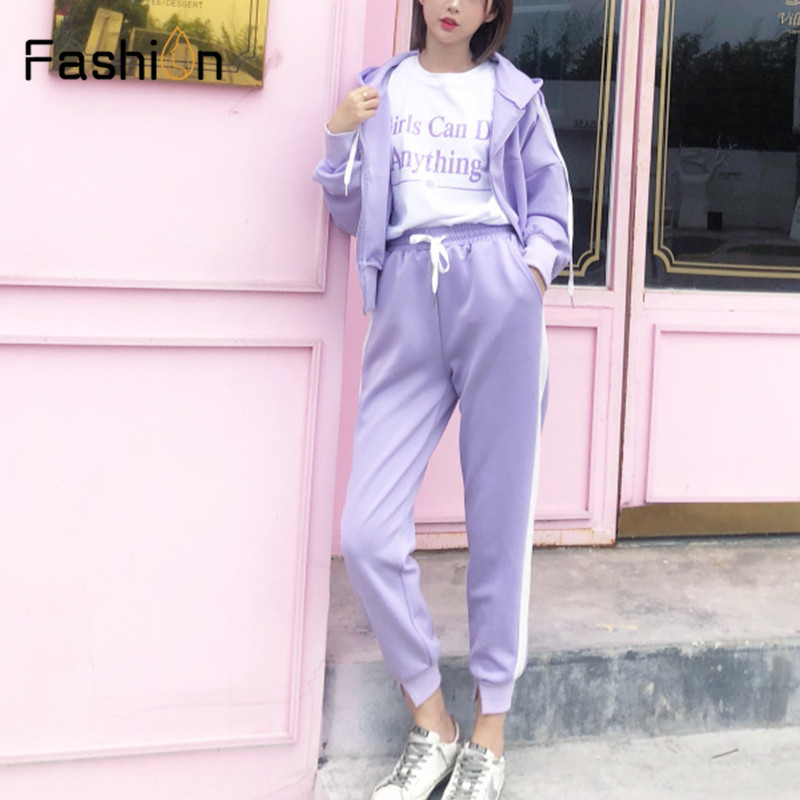 Women Hooded and Long Pants Sets Full Sleeve Tracksuit Sexy Spring Autumn Ladies Outfit Two Piece Set Sportswear Sweat Suit 5