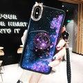 Высококачественный Блестящий блестящий чехол-подставка для телефона Samsung S7 S8 S9 S10 Plus Note10 9 8 с жидким песком