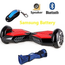 6.5 inch Lambo Electric Scooter Hover board 2 Wheel smart self balancing drift board scooter Christmas gift Samsung battery