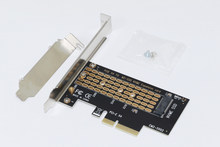 NEW PCI-E PCI Express 3.0 X4 to NVMe M.2 M KEY NGFF SSD PCIE M2 Riser Card Adapter Support 2230 2242 2260 2280 Size NVMe M.2 SSD(China)