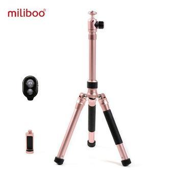 Miliboo MZA Mini Phone Selfie Stick plegable con Control remoto Bluetooth telefono Clipper Goillapod for telefono SLR camera