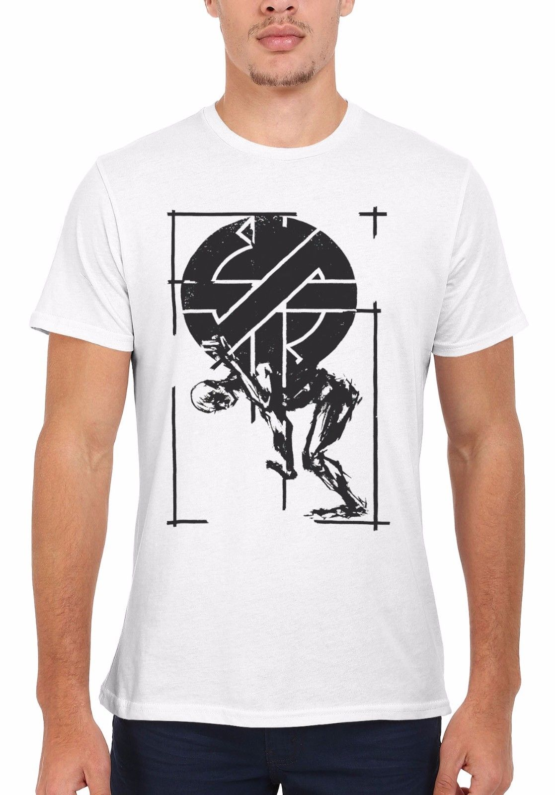 Crass Anarchy Punk Rock Music Cool Men Women Vest  Top Unisex T Shirt 1812 Print Summer Fashion Classic