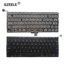 US แป้นพิมพ์แล็ปท็อปใหม่ 2009 2012 สำหรับ Apple MacBook Pro A1278 เปลี่ยน