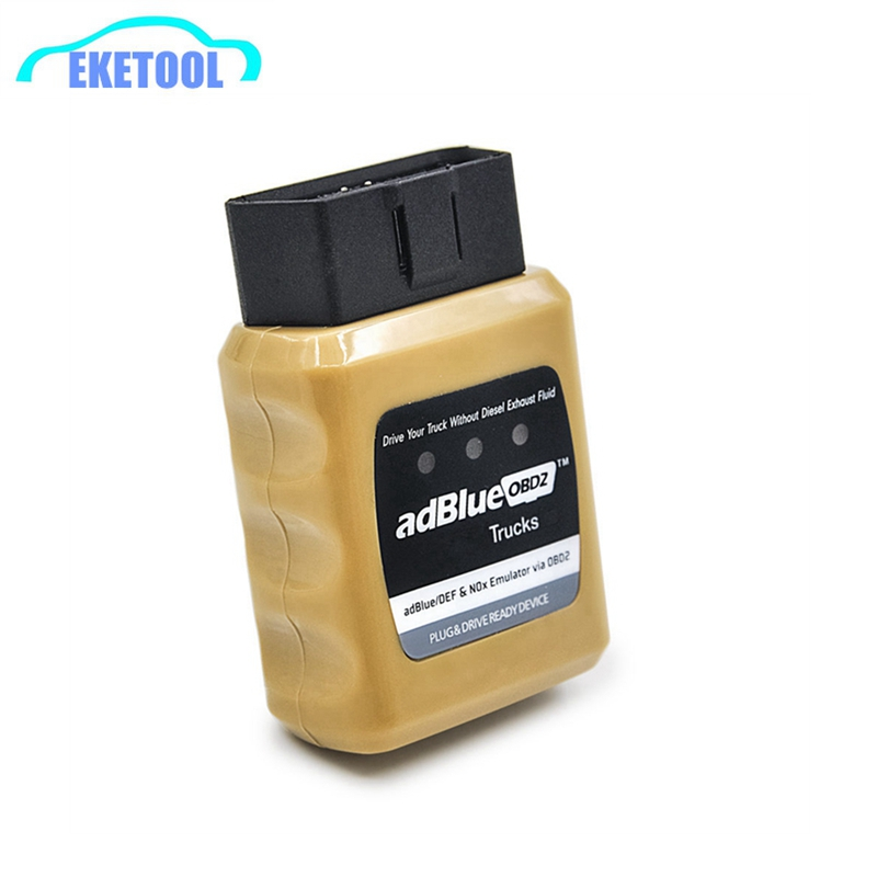 AdblueOBD2 For IVECO/VOLVO/DAF/MEN Truck Heavy Duty Professional Diagnostic Device Adblue OBD2 NOX Emulator Adblue/DEF Via OBD