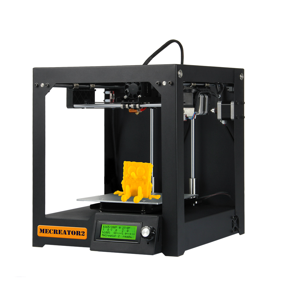 Geeetech 3D Desktop Εκτυπωτής MeCreator 2 DIY Μηχανή συναρμολόγησης Kit με LED 110V / 220V προαιρετική υψηλής ποιότητας