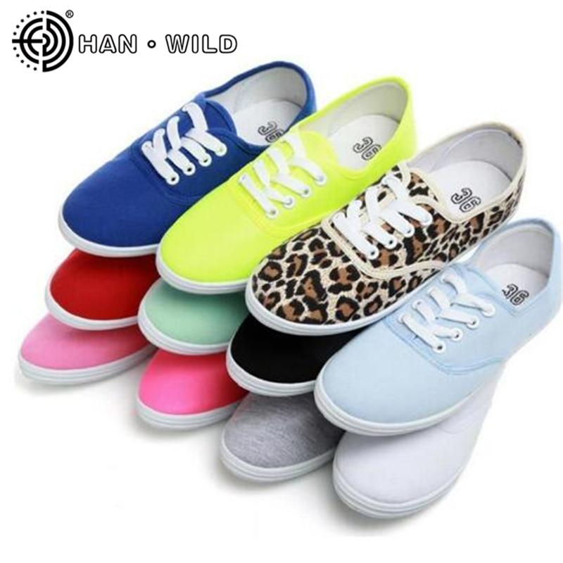 Feminino de Lona Tênis Feminino Casual Cadarço Sapatos Brancos Cores Pastel Respirável Espadrille 44