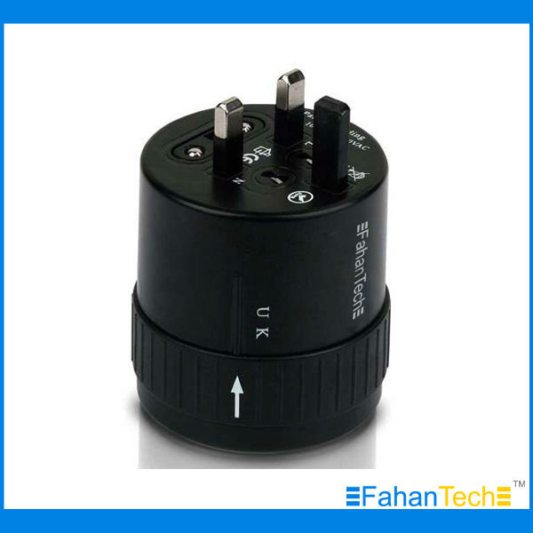 Global Travel Plug Adapter All-in-One Design Travel Adapter Covering over 150 Countries Must-have for Business Travel