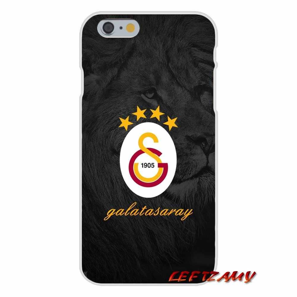 Galatasaray Logo Voor Samsung Galaxy S3 S4 S5 MINI S6 S7 rand S8 S9 Plus Note 2 3 4 5 8 accessoires Telefoon Gevallen Covers