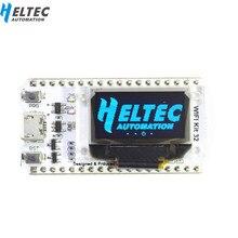 Carte de développement WIFI ESP32 0.96 pouces bleu OLED affichage Bluetooth internet des objets pour Arduino avec dissipateur de chaleur