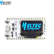цены WIFI ESP32 Development Board  0.96 Inch Blue OLED Display Bluetooth internet of things for Arduino with heat sink