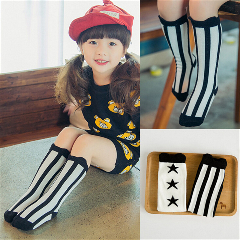New Knee-highs For Girls Girls Socks Knee High Princess Cute Baby Sock Long Tube Kids Children Kids Girl Socks Fox Socks