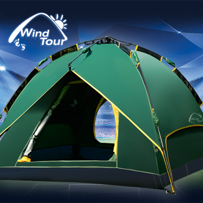 Wind Tour Outdoor Instant Tent Automatic Camping Tent Quick Set Up In Tents From Sports