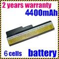 Bateria do portátil para ibm lenovo 3000 g455 jigu para lenovo ideapad g430 v460 z360 b460 n500 g550 v460d l08s6d02 l08s6y02 L08L6Y02