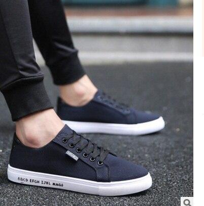 Lona Lace claro Hombres Zapatos Calidad Patchwork azul Los Moda De Shoes39 Negro Plataforma Transpirable 2018 Casual Plimsolls blanco La 44888 Llegada Superior up wOXCnq