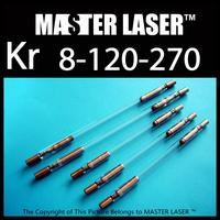 Best Quality Krypton Lamp Diameter 8mm Arc Length 120mm OVL 270mm YAG Laser Cutting Welding Machine