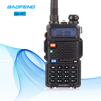 BaoFeng UV 5R Walkie Talkie Two Way Radio Dual Band Professional 5W VHF&UHF Handheld Hunting FM Transceiver Portable CB Radio