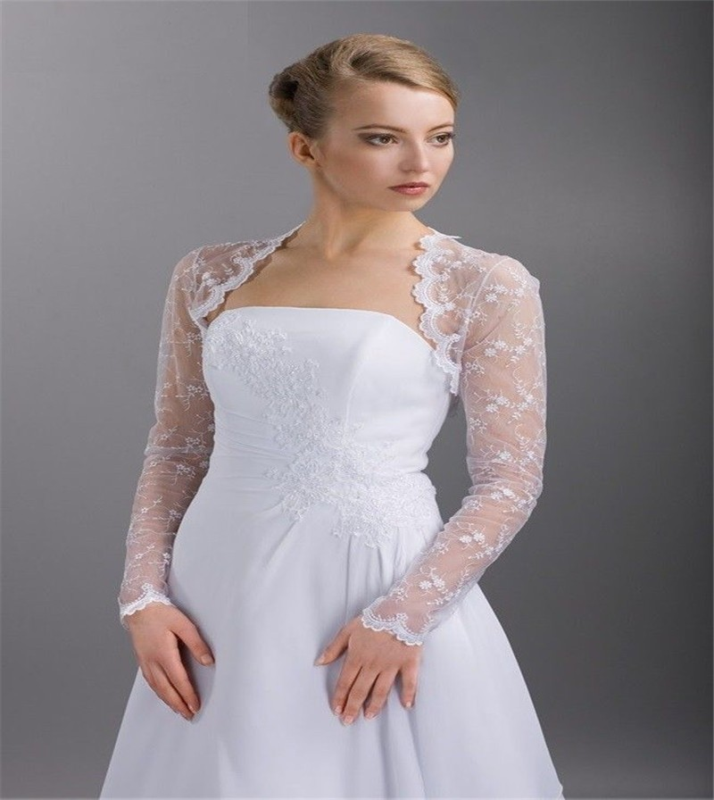 2016 hot sale wedding bolero (53)