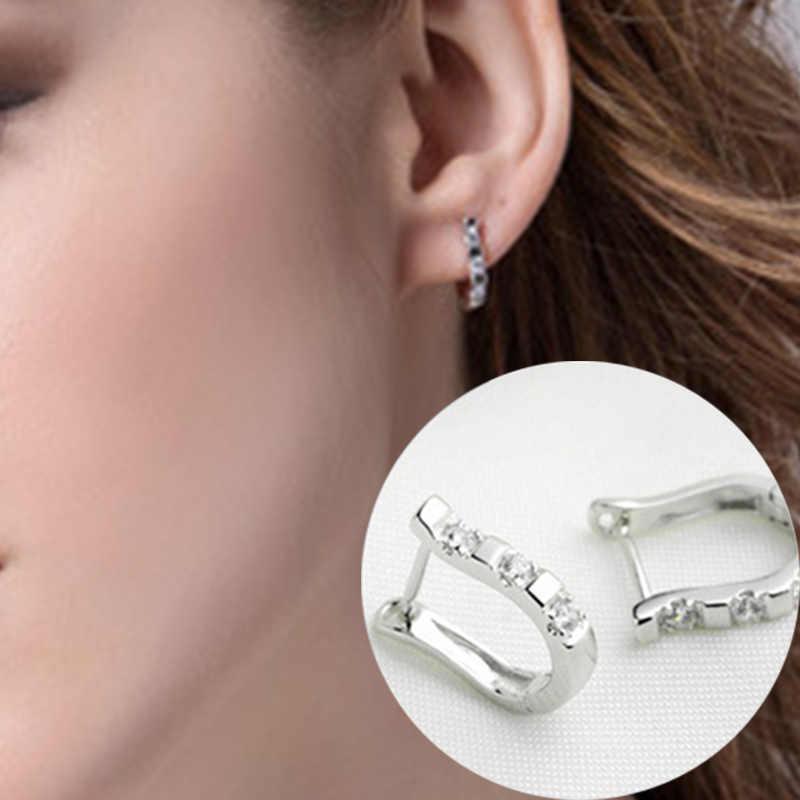 Gümüş kaplama küpe seti burgu küpe, moda gümüş takı, üreticileri, bayan modelleri arp küpe toptan