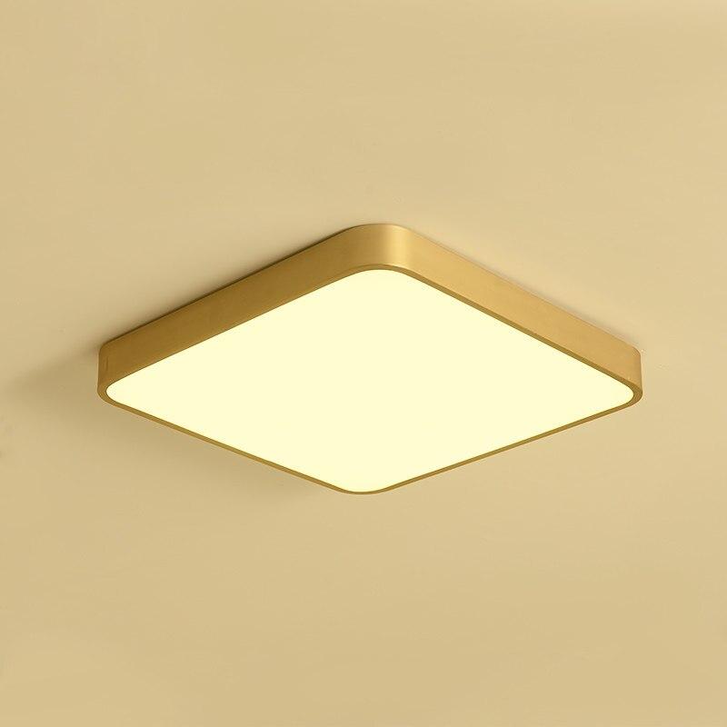 Америка полный Медь потолок Lamsp приспособление освещения Обеденная Спальня Роскошные потолочный светильник ресторан бутик коммерческих с