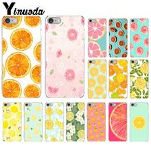Yinuoda INS fruit lemon orange Smart Cover Soft Shell Phone Case for iPhone 8 7 6 6S Plus 5 5S SE XR X XS MAX Coque Shell(China)