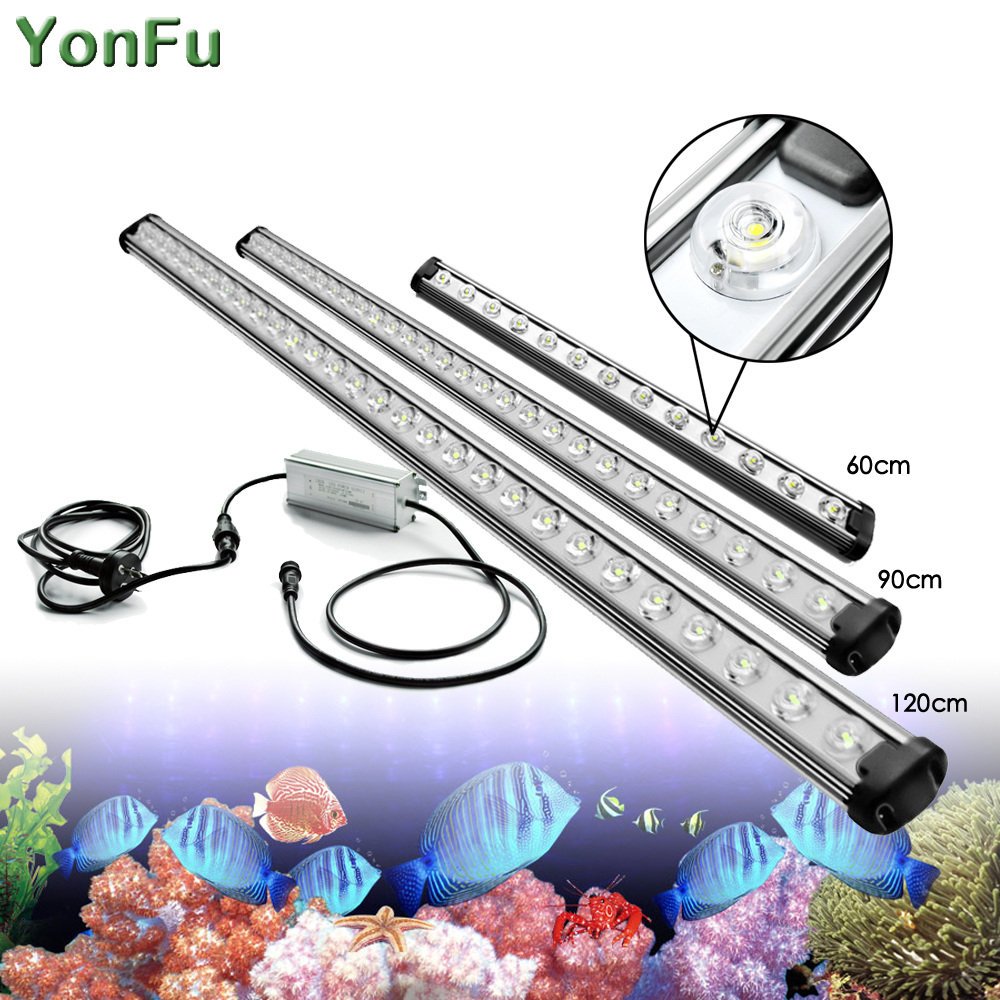 30W 40W 50W T8 Tube Full Spectrum Hydroponic LED Grow Light Bar Plant Grow Lamps For Aquarium Vegs Grow Tent 60cm 90cm 120cm