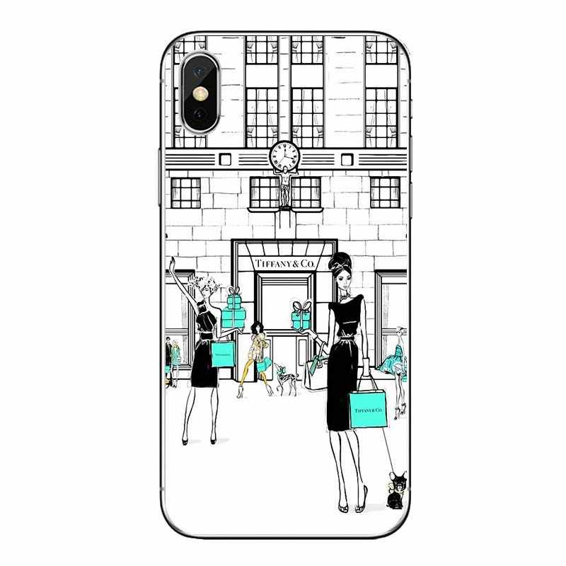 Sex and the City American TV Art Poster For LG G7 Q6 Q7 Q8 Q9 V30 X Power 2 3 For OnePlus 3T 5T 6T Soft Transparent Shell Covers