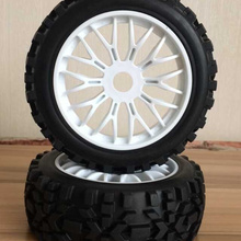 4pc GWOLVES 1/8 RC Buggy Truck Off-Road Tyre Nylon plus hard
