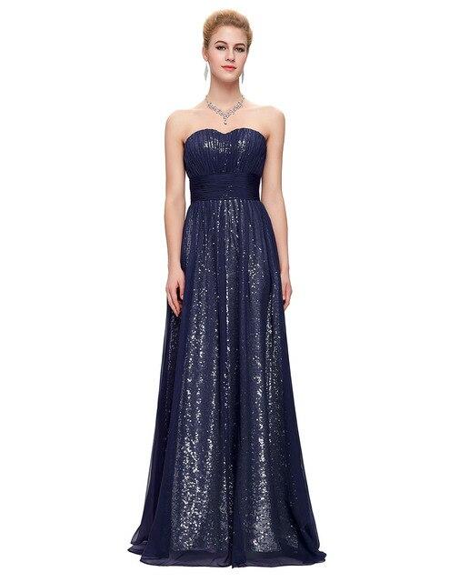 Floor Length Prom Dresses 2017 Blue Purple Green Chiffon Sequins Formal  Evening Gowns Dresses Sweetheart Long 6010b87dfcc4