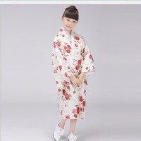 National Japanese Baby Girl Kimono Dress Vintage Children Kid Yukata Performance Dance Costume Classic Child Cosplay Dress