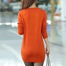 New Women Sweaters Winter Clothes Casual Knitted Pullover Knitwear Fashion Long Sleeve Slim Fit Jumper Lady's Top Plus Size