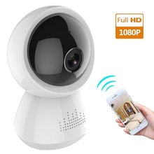 Kruiqi 1080P IP Camera Wireless Home Security Surveillance Wifi Night Vision CCTV Baby Monitor 1920*1080
