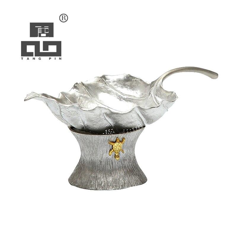 TANGPIN tin tea strainers kung fu tea accessories coffee tea tool|tools|tool tool|tool accessories - title=