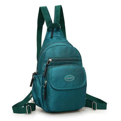 New Fashion Multi-use Womens Shopping backpack!Hot Casual Colorful Nylon backpack Ladys Top Versatile zipper backracks