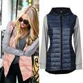 Hot Women Vests Plus Size Vest Femininas Cotton Vests Hoody Hooded Winter Warm Down Parka jacket Women Waistcoat