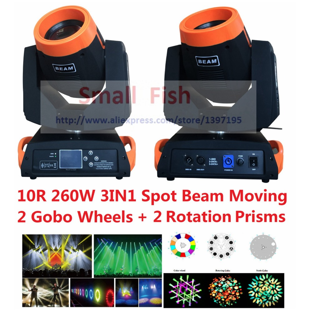 DHL 2018 Hot Beam Spot Moving Head Light 260W 10R Sharpy Robe Wash Gobo Stage Effect Lights DJ Disco DMX Professional Projector 60w lyre avec gobo led moving head spot beam wash light dmx 512 professional dj disco party wedding stage lighting projector