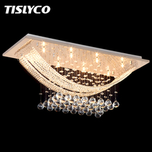 Luxuriant Crystal Chandelier Lighting Fixture Crystal Light Lustres de cristal for Living Room Ceiling Lamp Free Shipping недорго, оригинальная цена