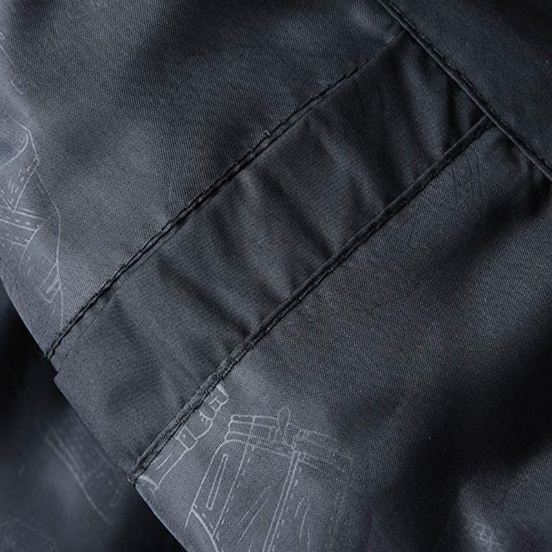 Image 5 - Горячая Распродажа, новый мужской жилет, Осень зима, брендовая  мужская жилетка с капюшоном, модный жилет с хлопковой подкладкой, куртка  и пальто, теплый жилет XXXL 4XLЖилеты и безрукавки