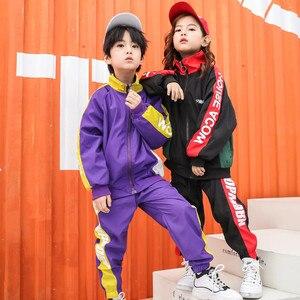 Image 3 - בני בנות בגדי 14 שנים בני בגדי נוער בגדי 2019 ילדים בנות בגדי אביב ספורט חליפת סט 2pcs ארוך שרוול